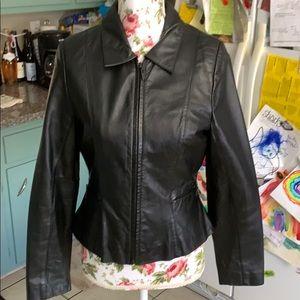 Black Wilson's Leather Jacket 😎
